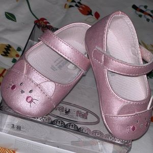 Baby Girl Cat Shoes